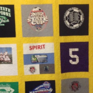 Shelby's tshirt quilt