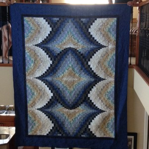My First Bargello ( 2 pictures )