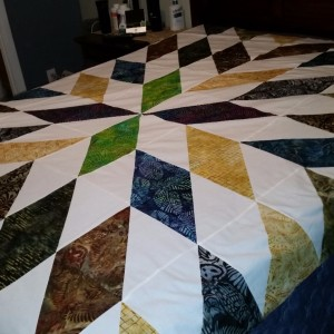 Kyle and Talya's Wedding Quilt