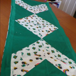 Saint Patrick's Day Table Runner