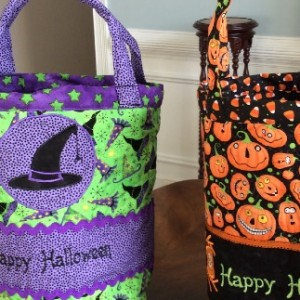 Quilted Trick-or-Treat Bags