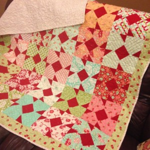 My strawberry quilt