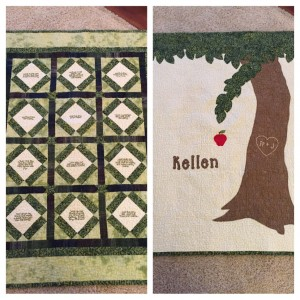 The Giving Tree quilt