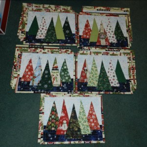 Holiday Tree Placemats
