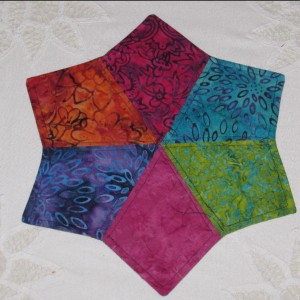 JEWEL TONED TABLE SCARF