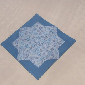 Double Square Star Table Scarf