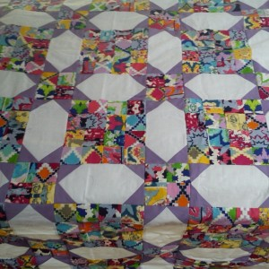 Purple Katie's Quilt