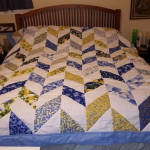 Summer Breeze iii Herringbone Quilt