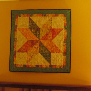 Tropical Quilt Star