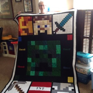 Mine Craft Quilt