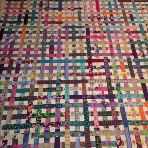 Ellery's Coat-of-Many-Colors Quilt