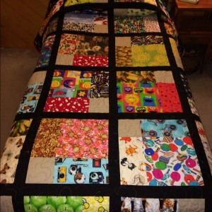 Hudson's LITTLE BOY/BIG BOY Reversible Quilt