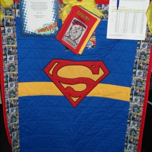 Superman Auction Quilt