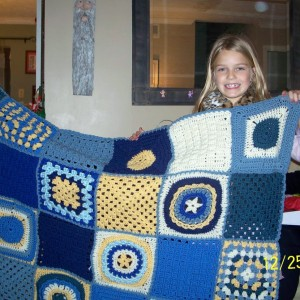 2nd Crocheted afghan