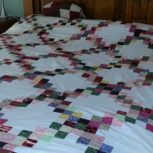 Irish Chain Scrap Quilt