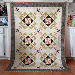 Sugar Plums Quilt - Autumn Colorway