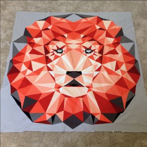 The Lion: Jungle Abstractions