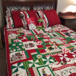 How the Grinch Stole Christmas I Spy Quilt