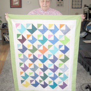 Love Notes Baby quilt