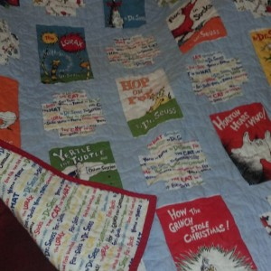 Dr Suess Toddler Quilt