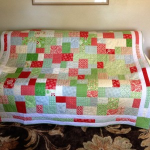 Christmas Double Slice Quilt