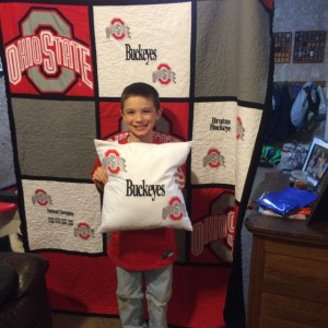 OHIO STATE Birthday Quilt