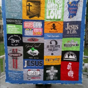 Nebraska Youth Camp 2015 T-Shirt Quilt