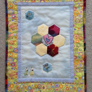 Miniature quilt from
