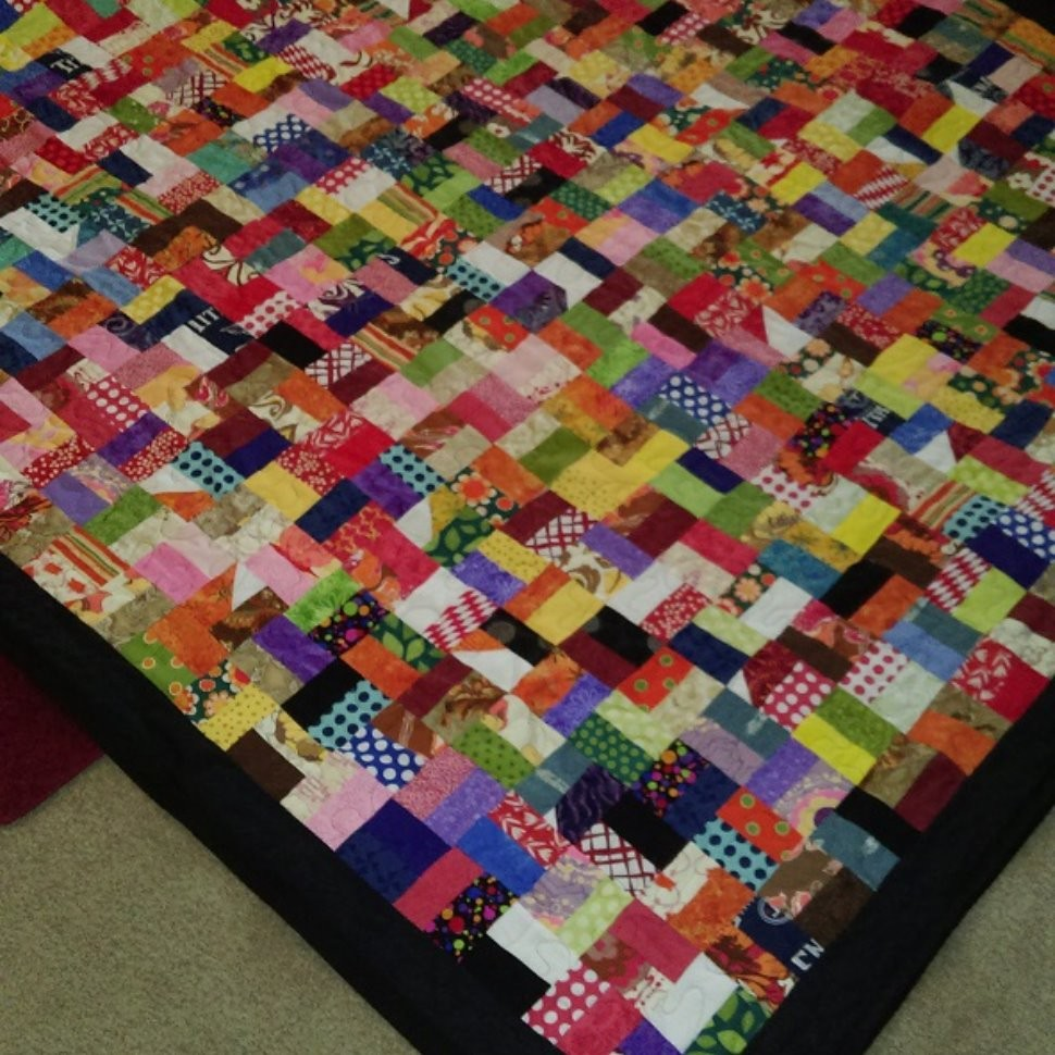 Sew Very Easy Scrap Quilt