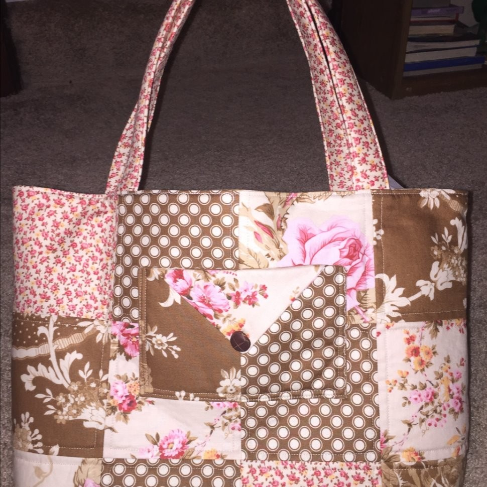 Easy Quilted Bag
