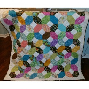 Xs and Os baby quilt