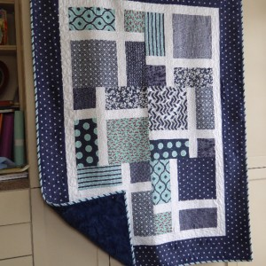 Slice of Life Baby Quilt