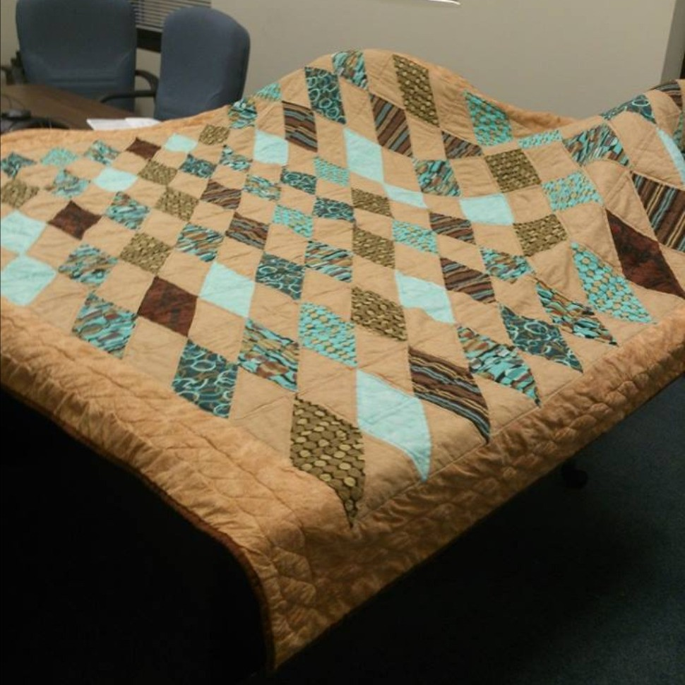 My First Quilt Triangle Tango Quiltsby