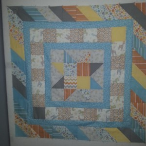 Baby Quilt - The Leftovers