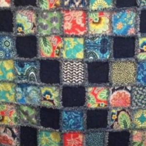 Denim & Cotton Rag Quilt
