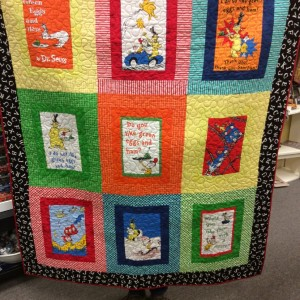 Dr. Seuss Twin Quilts