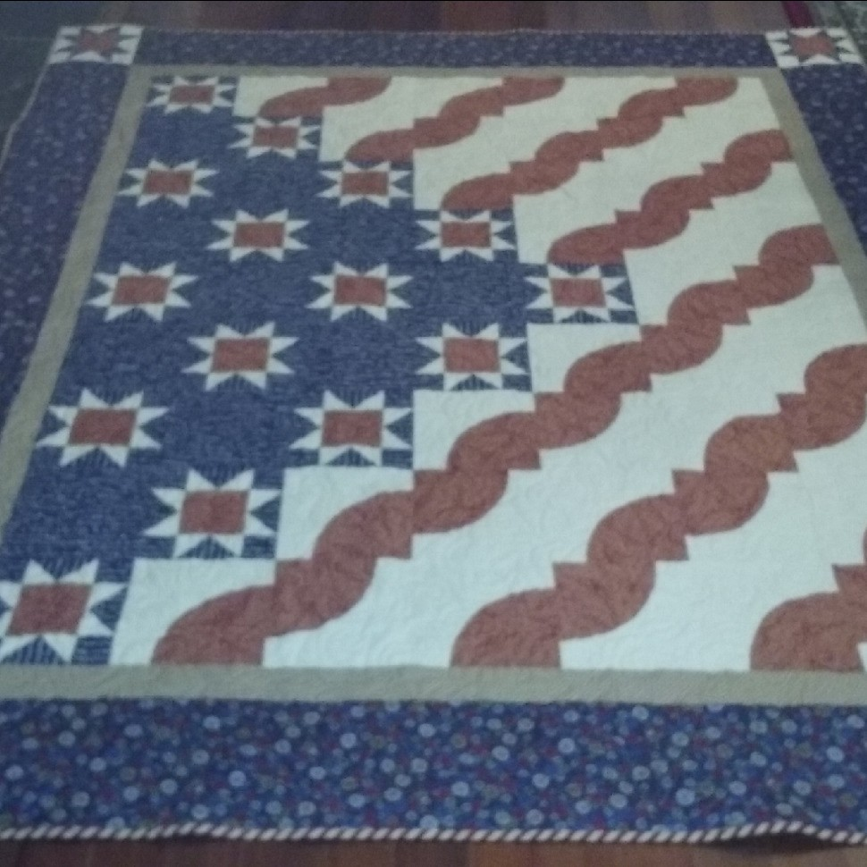 Quilt of Valor for Husband