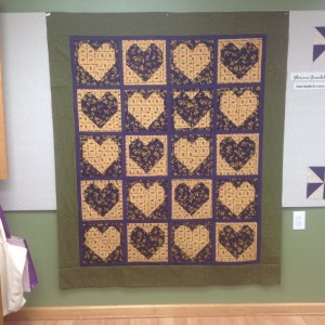 Our Hearts are Thankful, an appreciation quilt