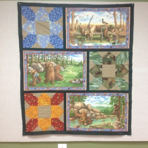 Do Bears Play in the Woods?, an appreciation quilt
