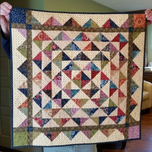 Hopscotch Patchwork Quilt