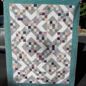 Downton Abbey Quilt - Sunny Skies pattern