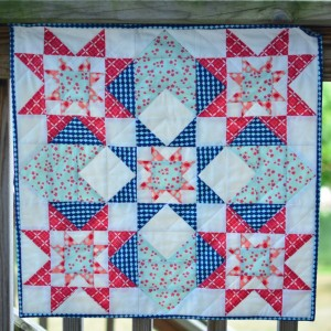Mini Sawtooth Quilt