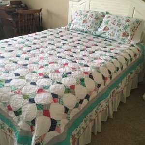 My periwinkle quilt