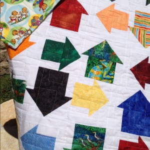 Moda Bakeshop On The Go Baby Boy quilt pattern