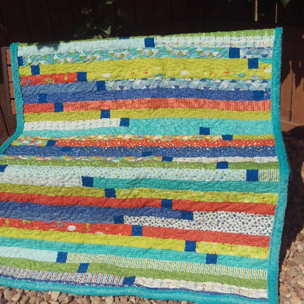Jelly Roll Quilt Race #2