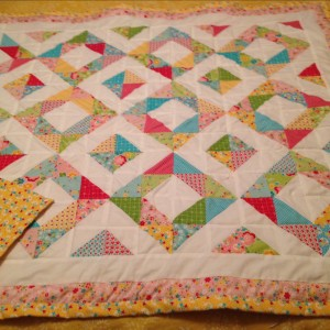 Baby Quilts for Twins (Boy & Girl)