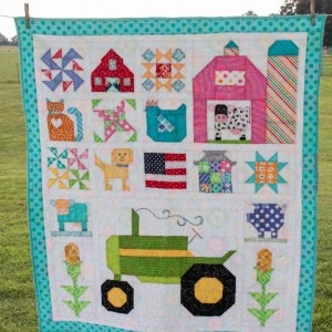 Baby Farm Girl Quilt