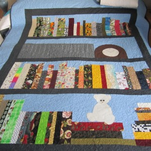 Bookcase Quilts