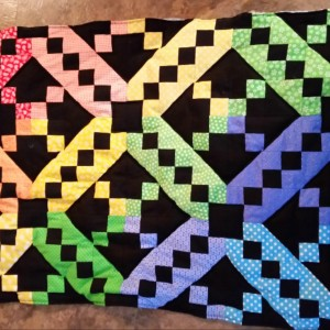 Jacob's ladder baby quilts