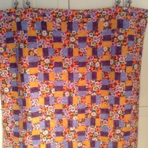 Spring Pansy Quilt